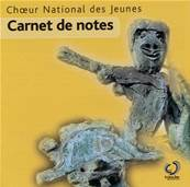 Carnet de notes- CD- CNJ 2009- Valérie Fayet